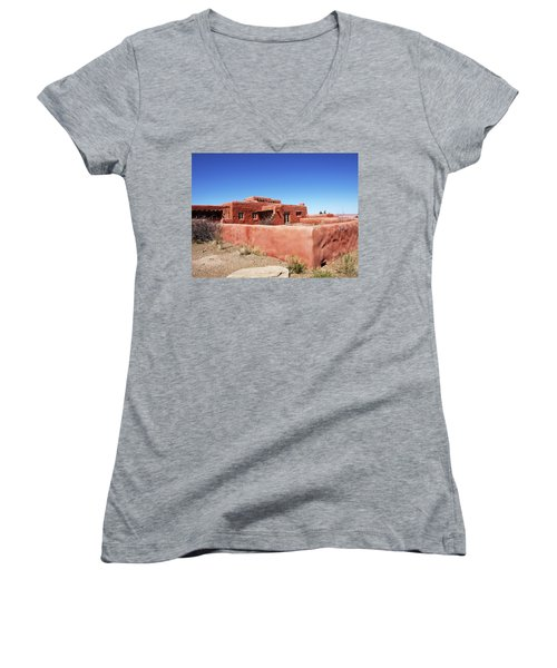 The Painted Desert Inn Women's V-Neck