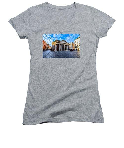 The Pantheon Rome Women's V-Neck