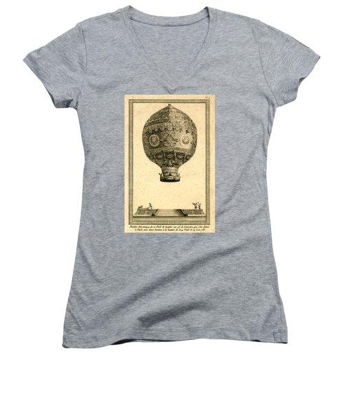 The Paris Ascent 2 Women's V-Neck T-Shirt