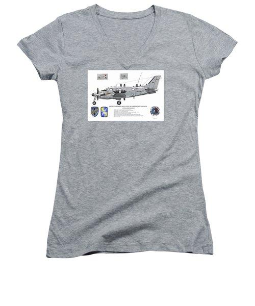 The Patriot Profile Women's V-Neck T-Shirt