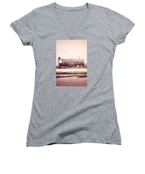 Women's V-Neck T-Shirt (Junior Cut) featuring the photograph The Perfect Summer by Trish Mistric