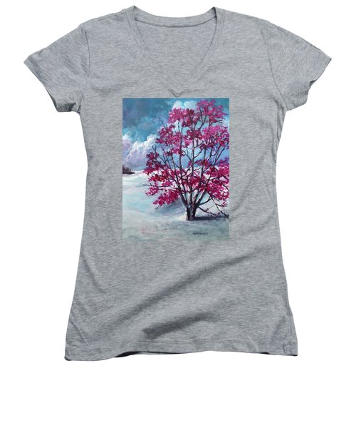 The Persistence Of Love Women's V-Neck
