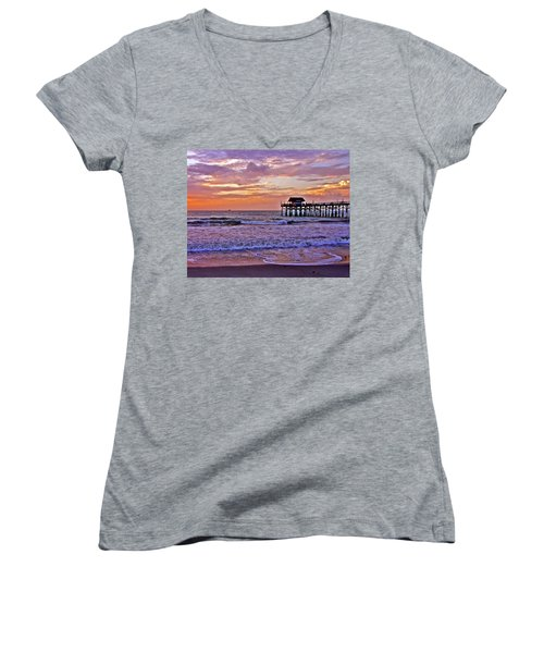 The Pier Women's V-Neck (Athletic Fit)