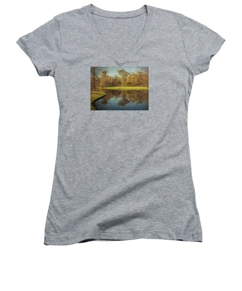The Pond Women's V-Neck
