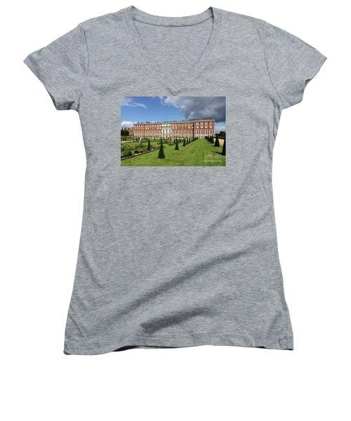 The Privy Garden Hampton Court Women's V-Neck (Athletic Fit)