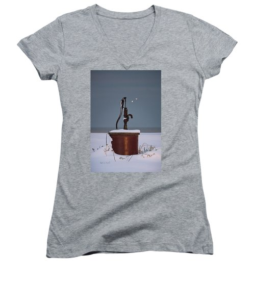 The Pump Women's V-Neck