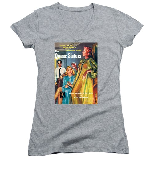 The Queer Sisters Women's V-Neck