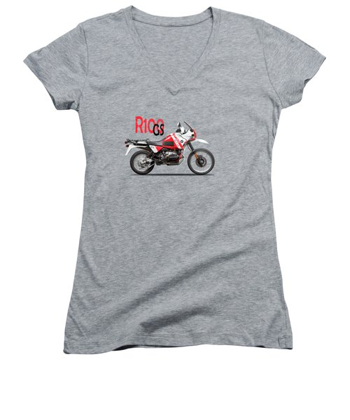 The R100gs Women's V-Neck (Athletic Fit)