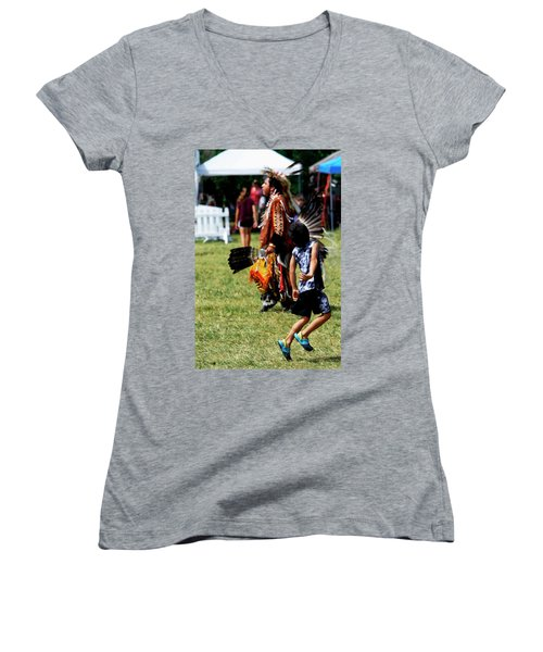 The Relay Women's V-Neck (Athletic Fit)