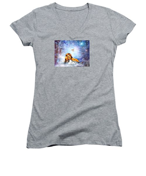 The Resting Place Women's V-Neck (Athletic Fit)