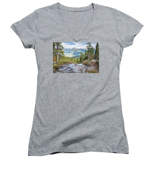 The Rockies Women's V-Neck (Athletic Fit)
