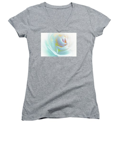 The Rose By Scott Cameron Women's V-Neck T-Shirt