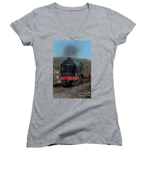 The Royal Scot 1 Women's V-Neck (Athletic Fit)