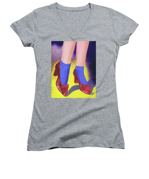 The Ruby Slippers Women's V-Neck