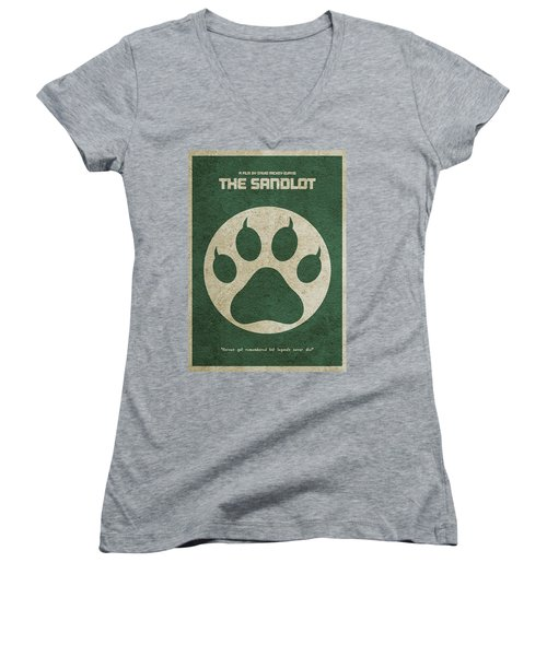 The Sandlot Alternative Minimalist Movie Poster Women's V-Neck T-Shirt