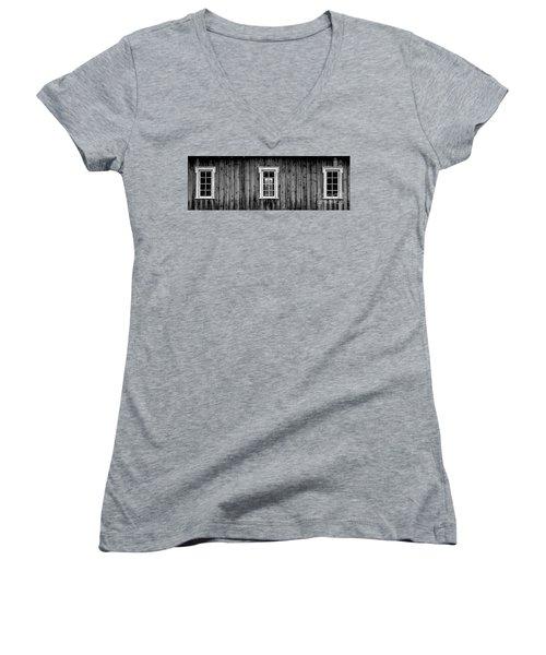 The School House Women's V-Neck T-Shirt