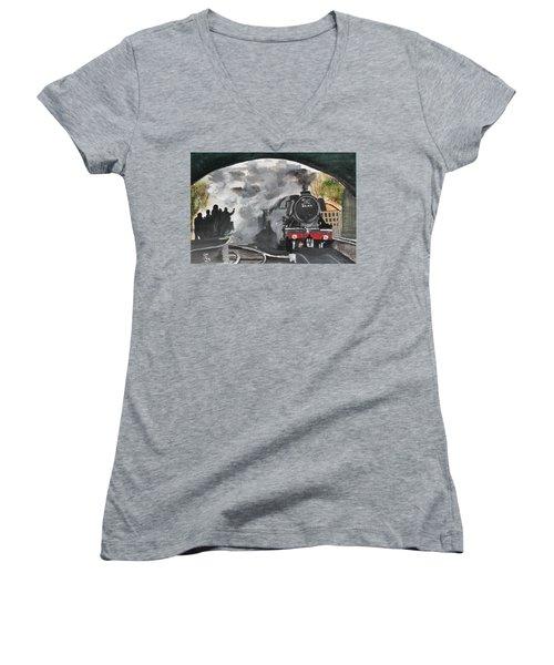 The Scotsman Women's V-Neck T-Shirt