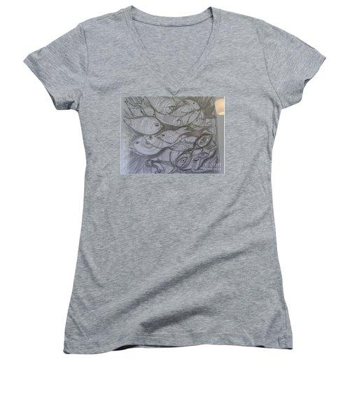 The Sea Diver Women's V-Neck T-Shirt