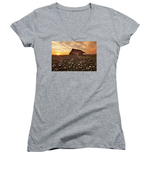 The Sharecropper Shack Women's V-Neck