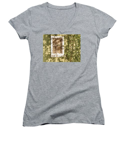 The Shed Window Women's V-Neck