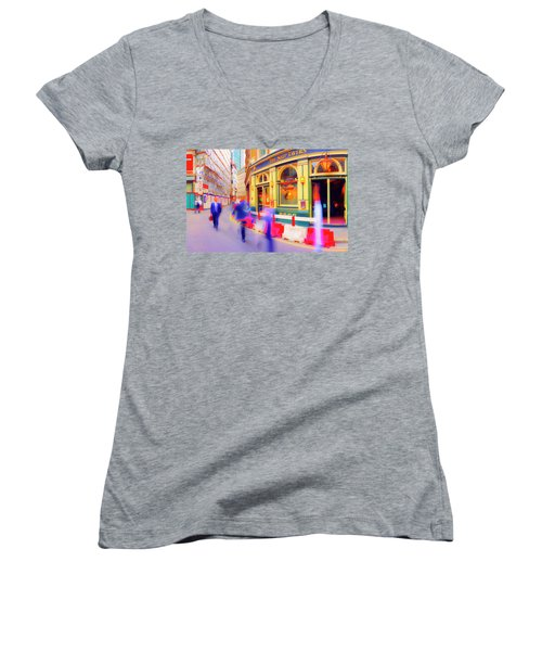 The Ship Women's V-Neck (Athletic Fit)