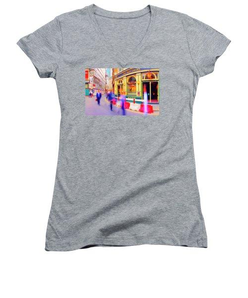 The Ship Women's V-Neck T-Shirt