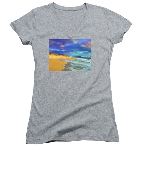 The Shoreline At Half Moon Bay Women's V-Neck