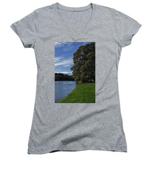 The Silvery Tay By Dunkeld Women's V-Neck