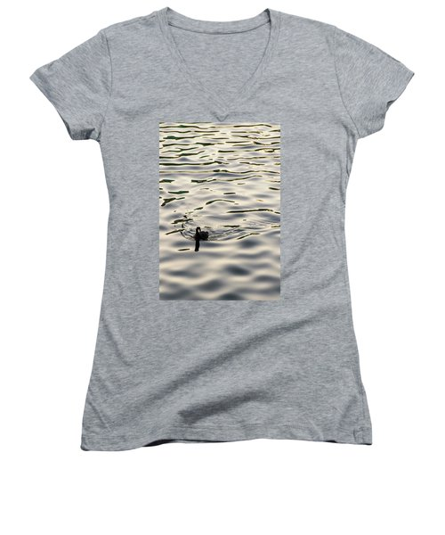 The Simple Life Women's V-Neck T-Shirt