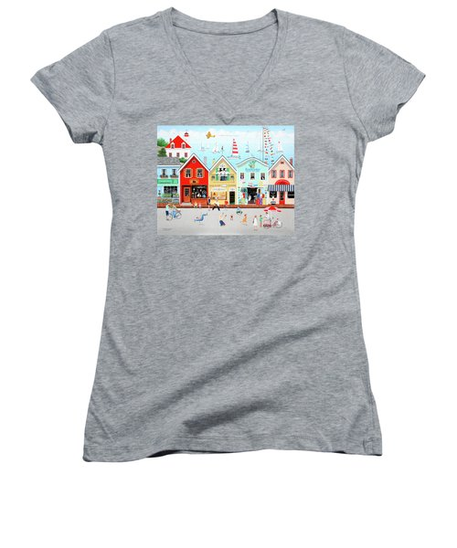 The Singing Bakers Women's V-Neck (Athletic Fit)