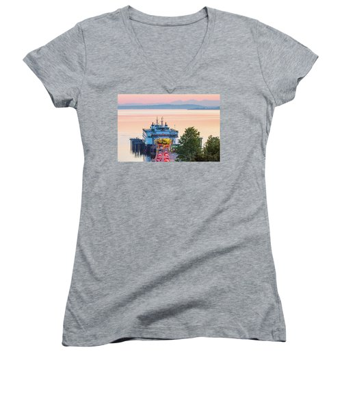 The Six O'clock Ferry Women's V-Neck