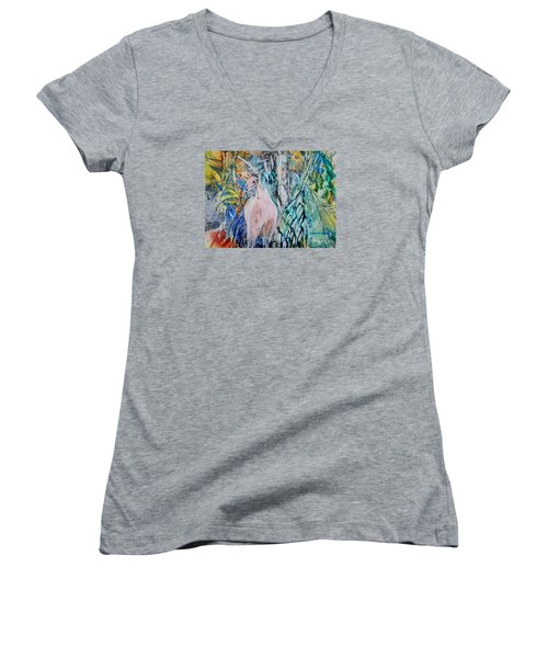 The Sixth Day Women's V-Neck (Athletic Fit)