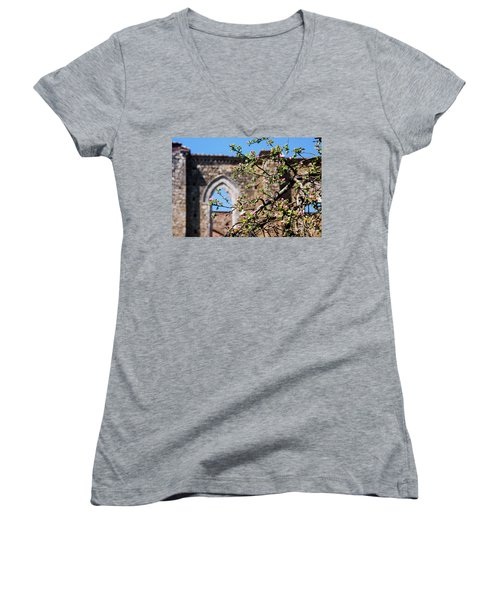 The Sky As A Roof Women's V-Neck