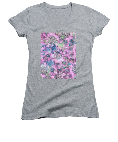 The Smell Of Spring 2 Women's V-Neck (Athletic Fit)