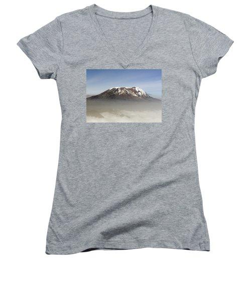 The Snows Of Kilimanjaro Women's V-Neck T-Shirt