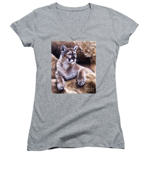 The Source Iv Women's V-Neck T-Shirt