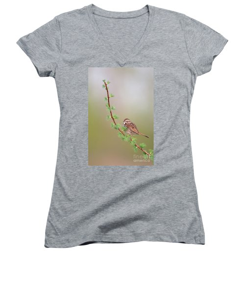 The Spring. Women's V-Neck (Athletic Fit)