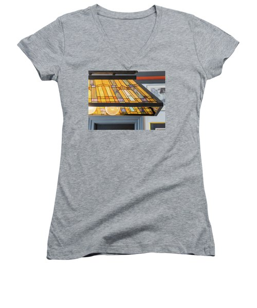 The Stained Glass Women's V-Neck T-Shirt