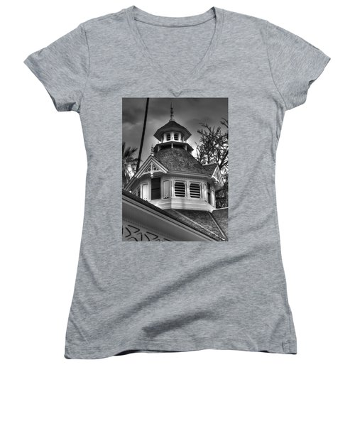 The Steeple Women's V-Neck (Athletic Fit)