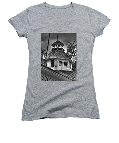 The Steeple Women's V-Neck T-Shirt