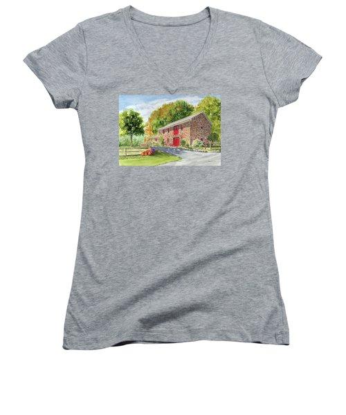 The Stone House Women's V-Neck T-Shirt