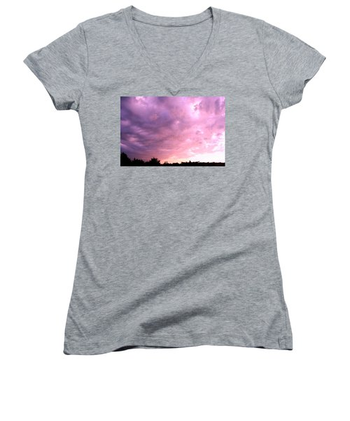 The Storm Is Over Women's V-Neck