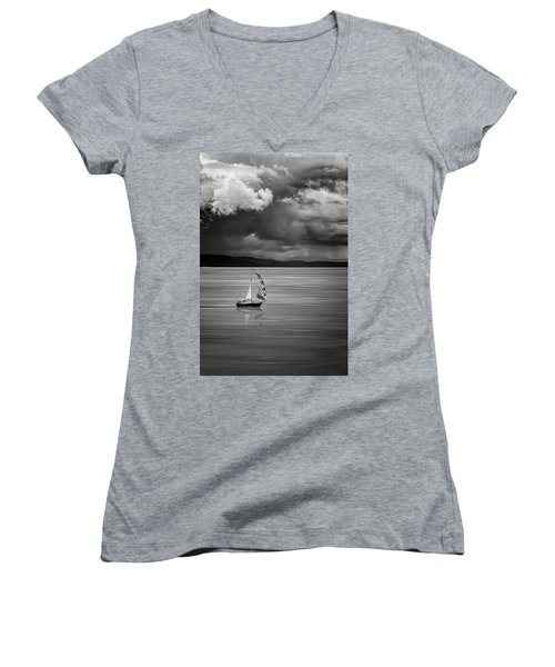The Strait Of Georgia Women's V-Neck (Athletic Fit)