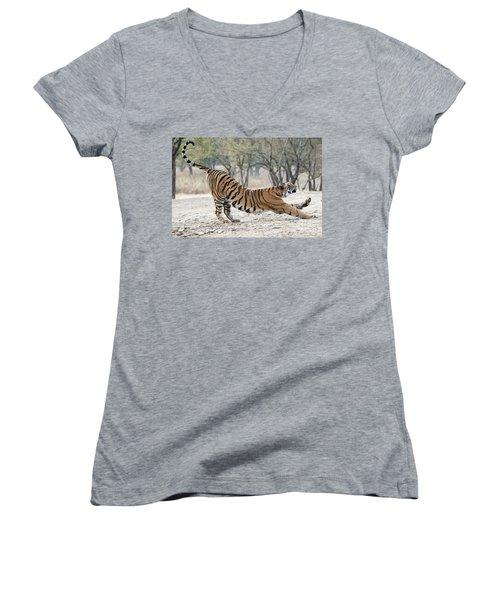 The Stretch Women's V-Neck T-Shirt