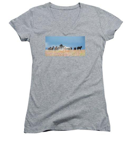 The Strike Women's V-Neck T-Shirt