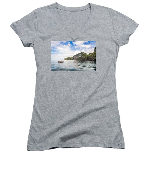 The Stunning  Koh Mook In The Trang Island Women's V-Neck