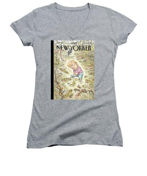 The Swamp Women's V-Neck