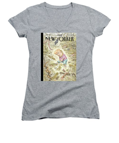The Swamp Women's V-Neck