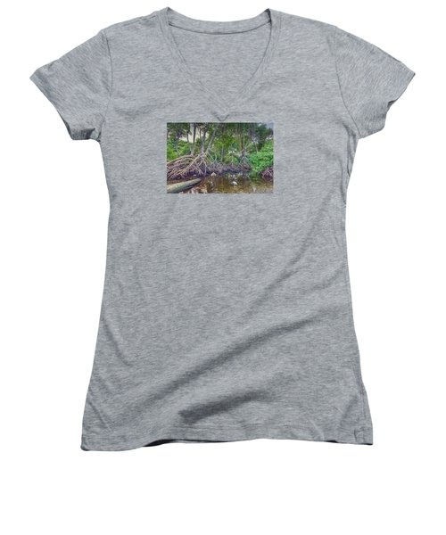 The Swamp Women's V-Neck (Athletic Fit)