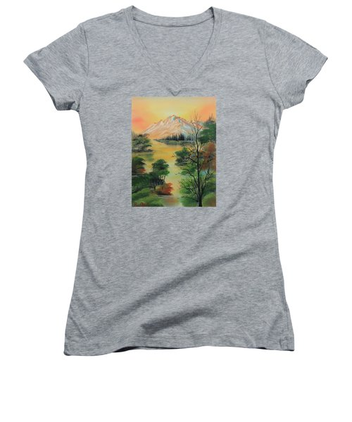 The Swamp 2 Women's V-Neck (Athletic Fit)